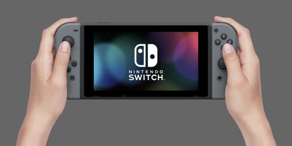 Nintendo Switch modo portátil