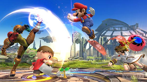 Smash Bros WiiU