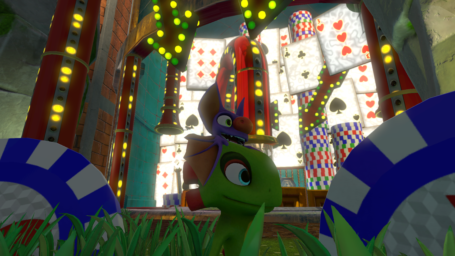 Yooka y Laylee en el Casino Capital
