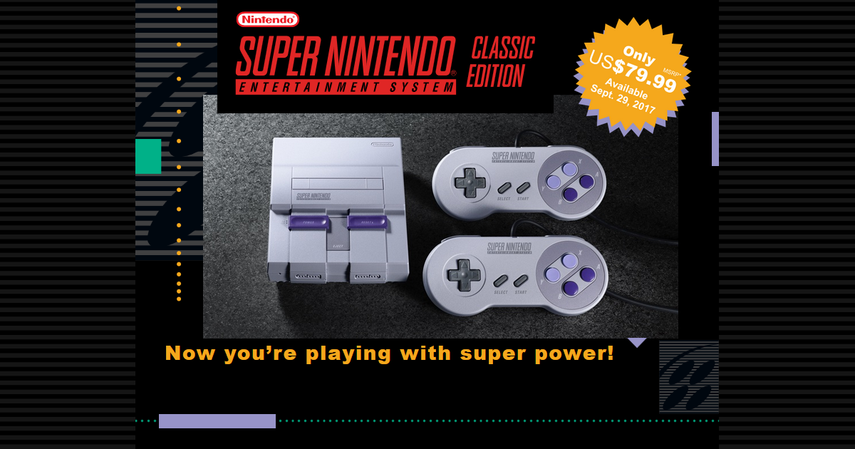SNES Classic Edition fb