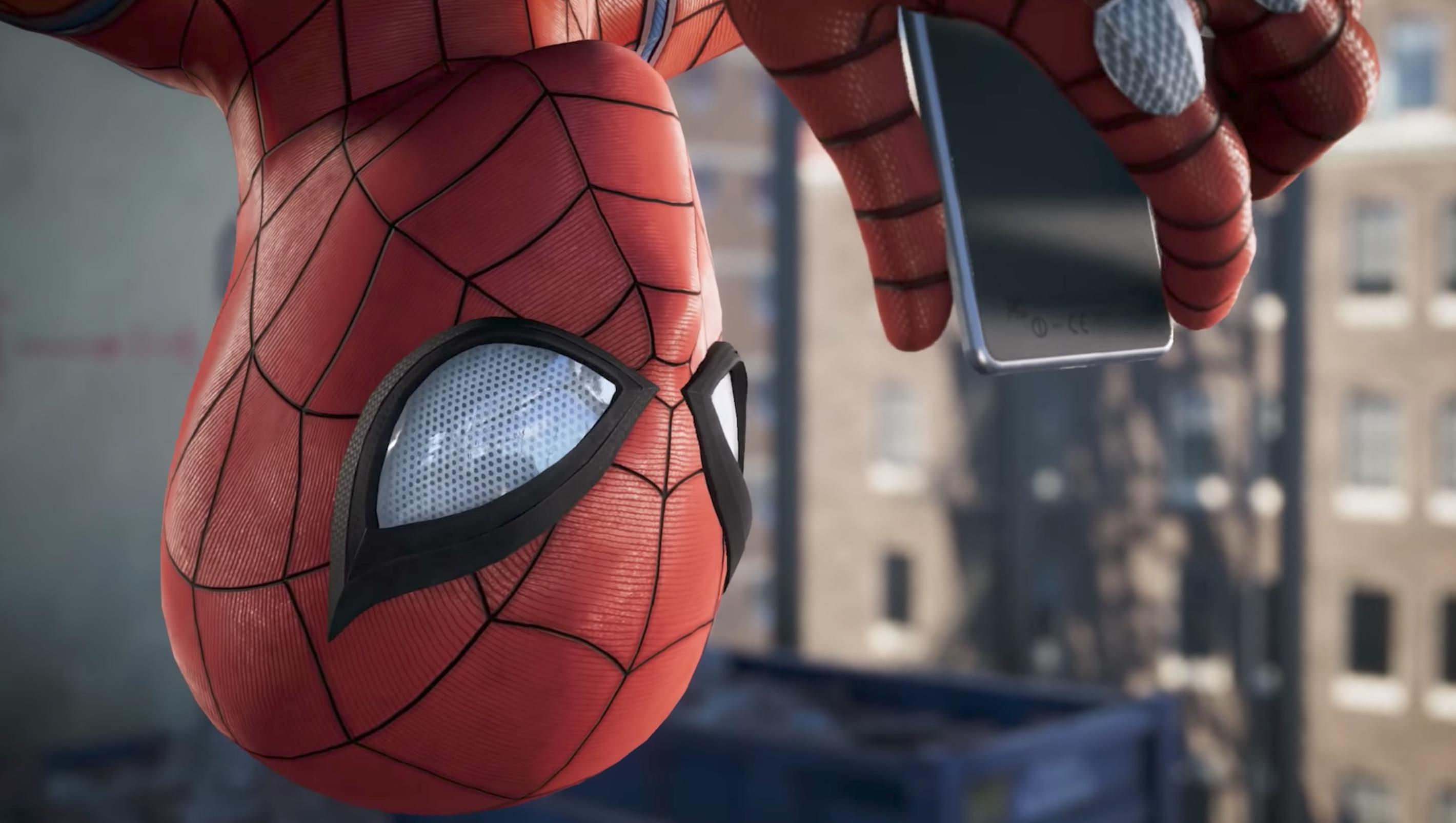 Spiderman Insomniac Games