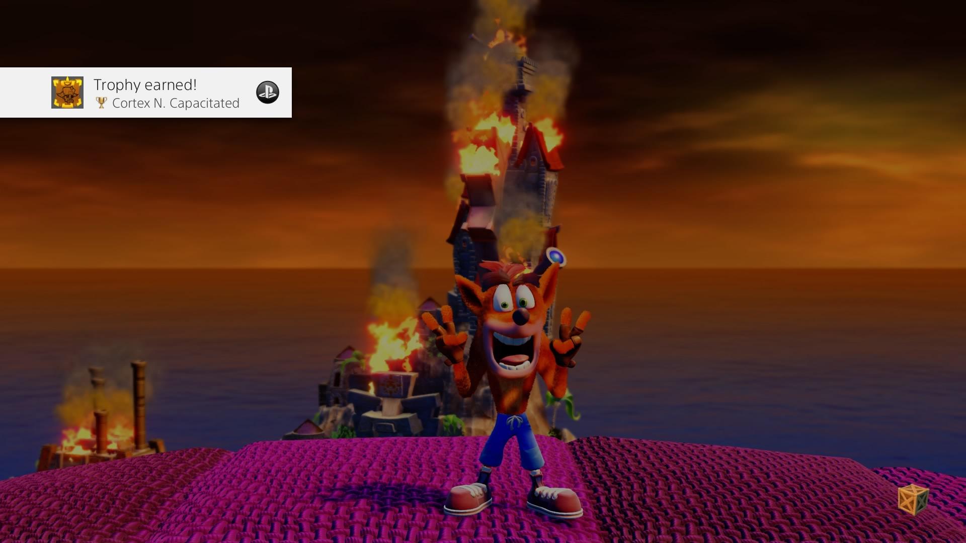 Crash Bandicoot N. Sane Trilogy - Jefe final derrotado