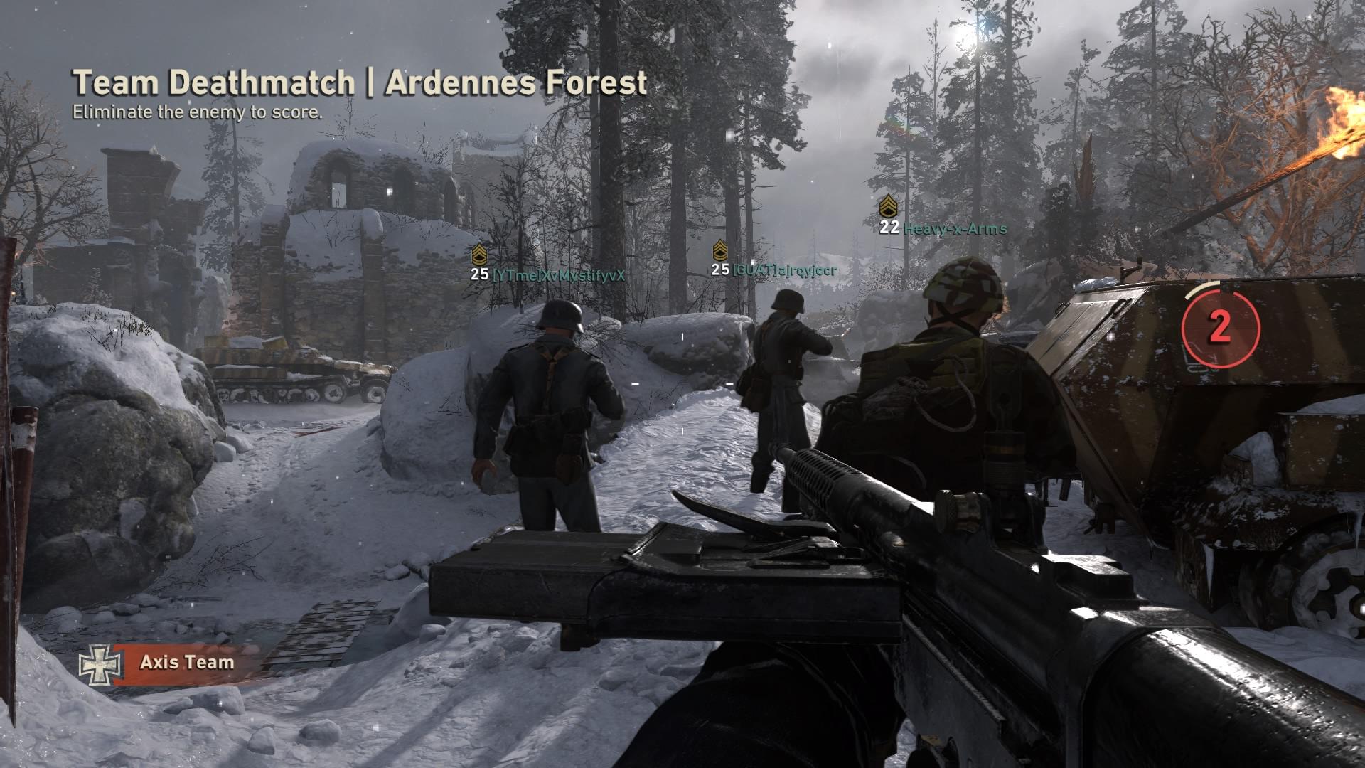 cod ww2 - team deathmatch