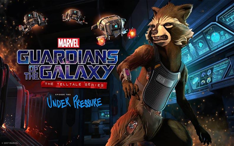 Guardianes de la galaxia episodio 2 under pressure egla