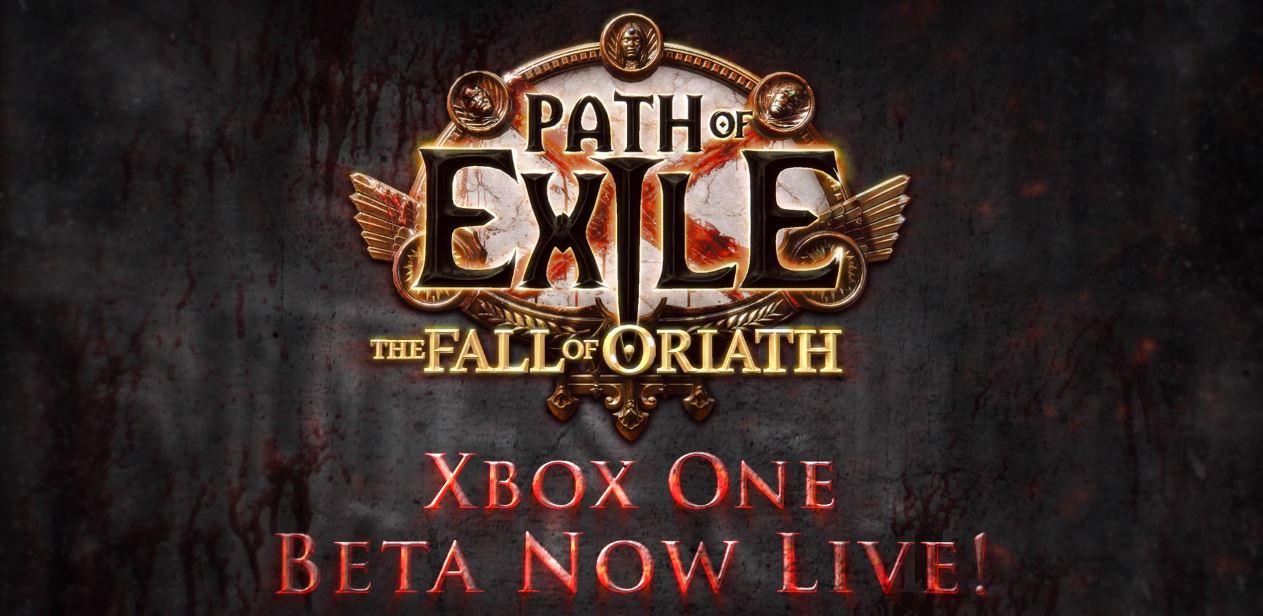 Path of exile xbox one beta egla