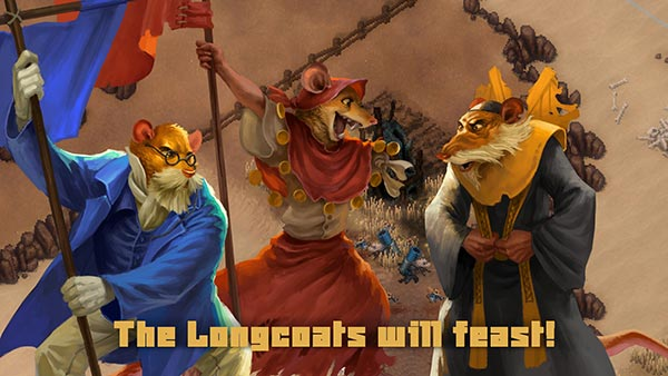 Tooth and Tail - Ilustraciones