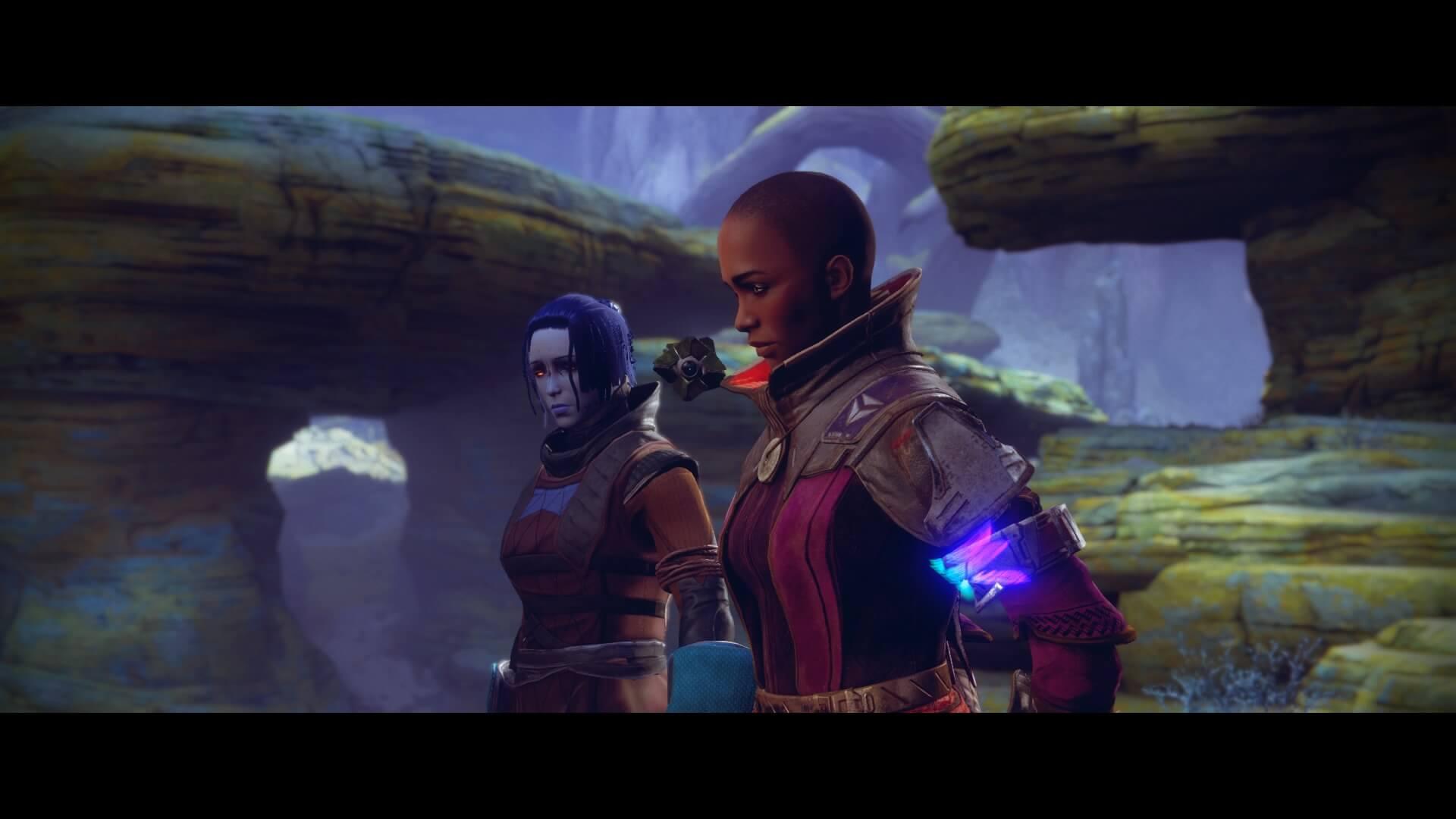 Destiny 2 - guardian con Ikora Rey