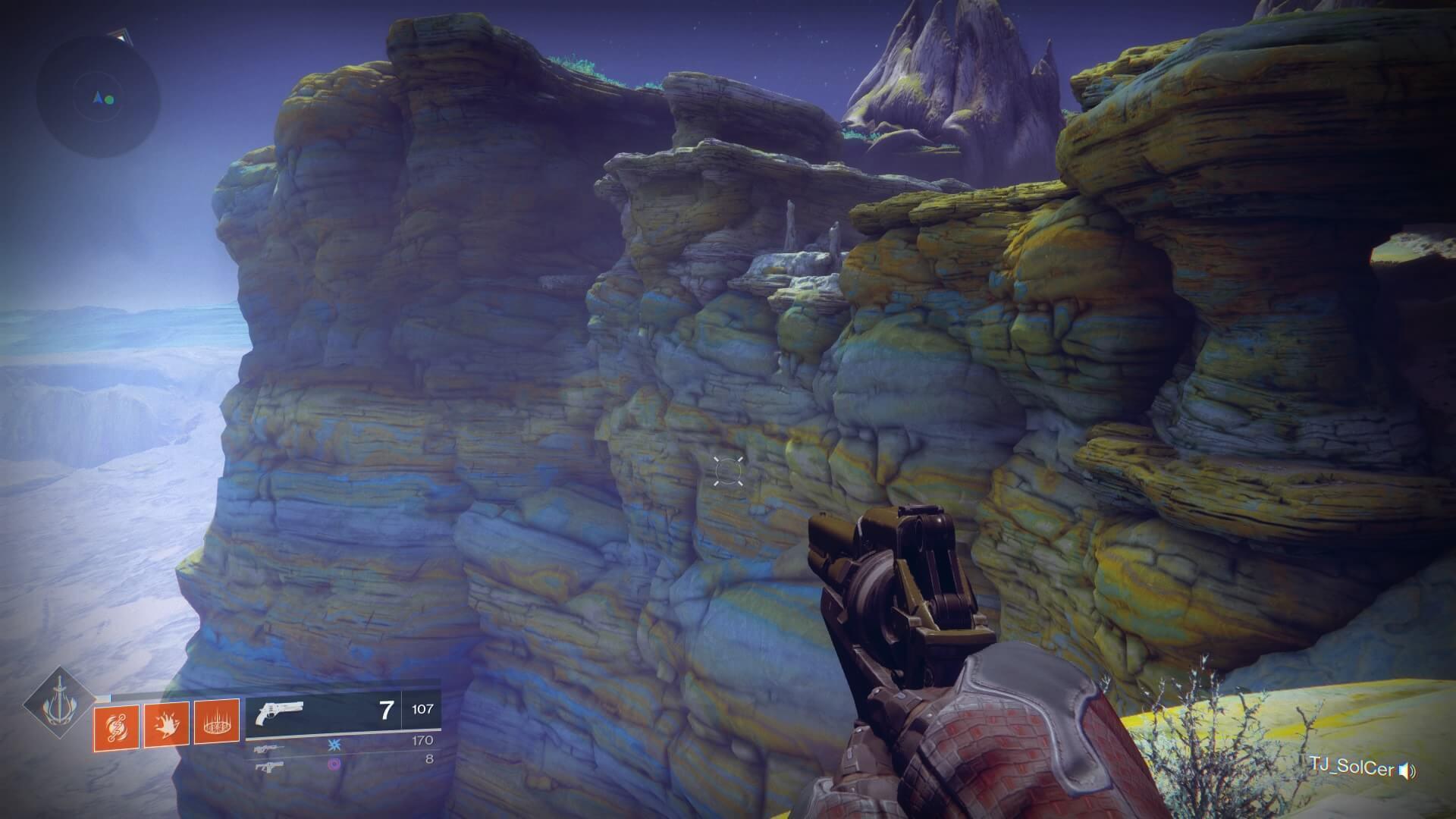 Destiny 2 - superficie de Io