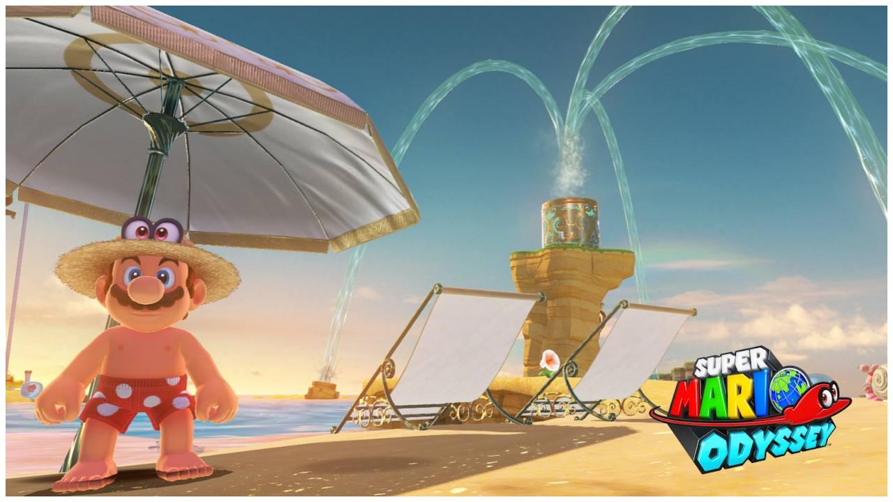 EGLA - Super Mario Odyssey Modelo