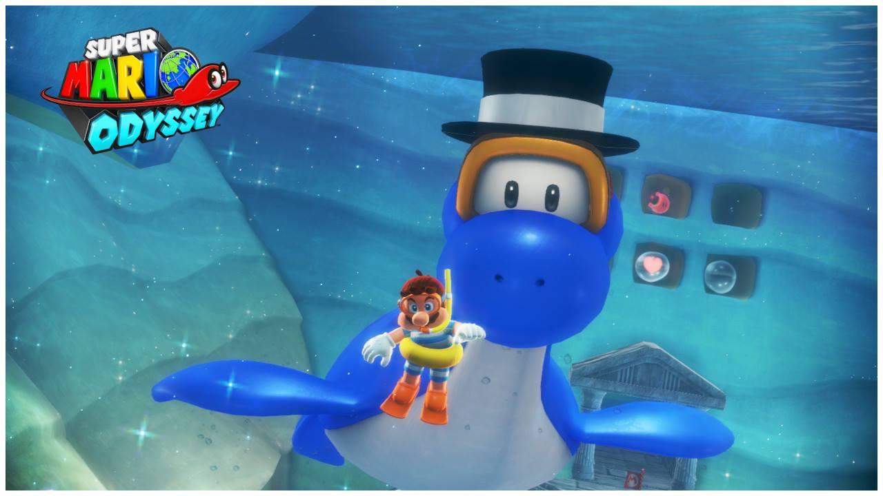 EGLA - Super Mario Odyssey Bajo del Mar