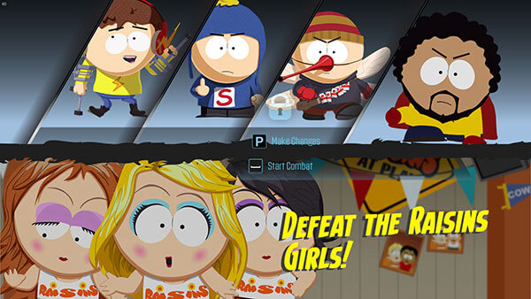 South Park: The Fractured But Whole - Alineación