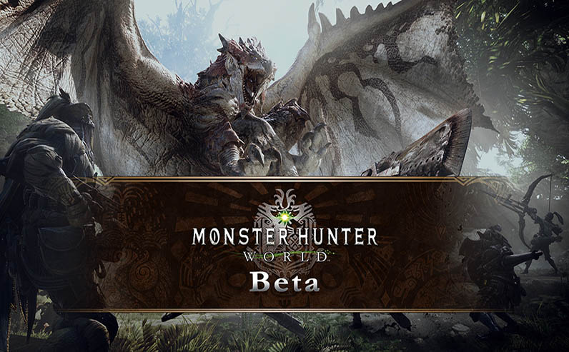 Monster Hunter World Beta egla