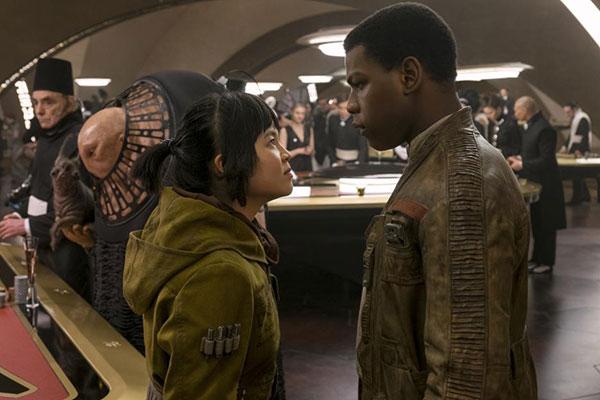 Star Wars: Los Últimos Jedi - Rose y Finn