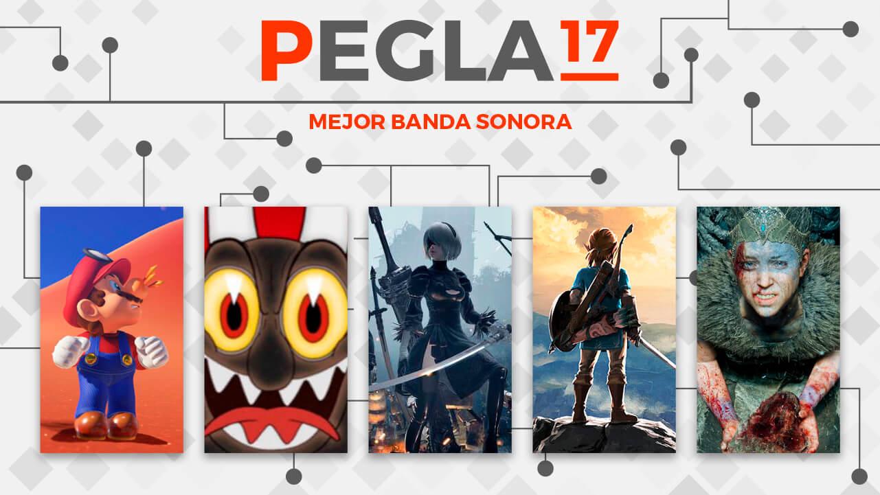 Premios EGLA 2017 Mejor Banda Sonora