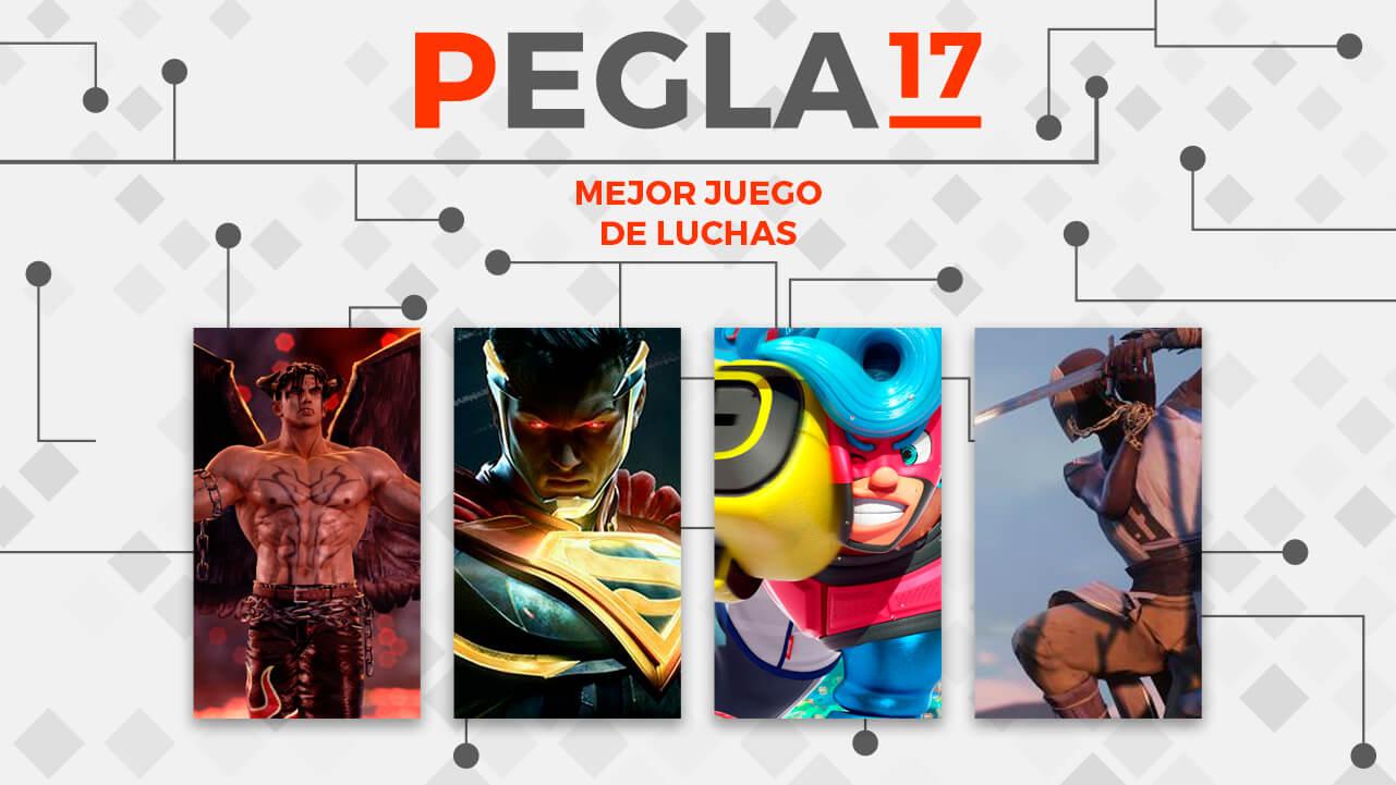 Premios EGLA 2017 Mejor juego de Luchas