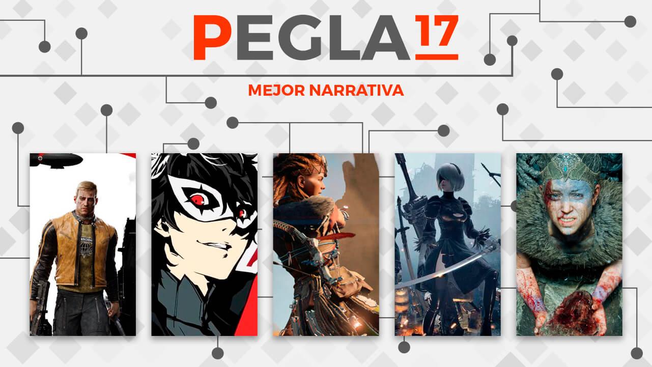 Premios EGLA 2017 Mejor Narrativa