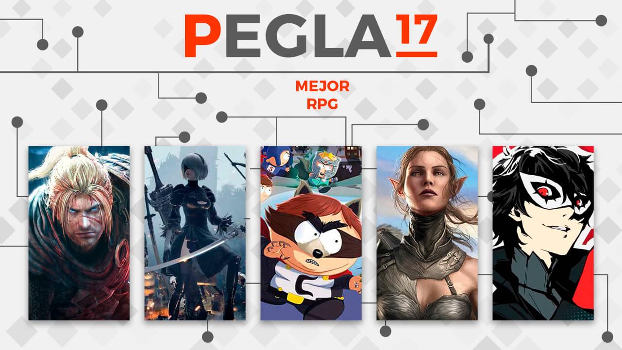 Premios EGLA 2017 Mejor RPG