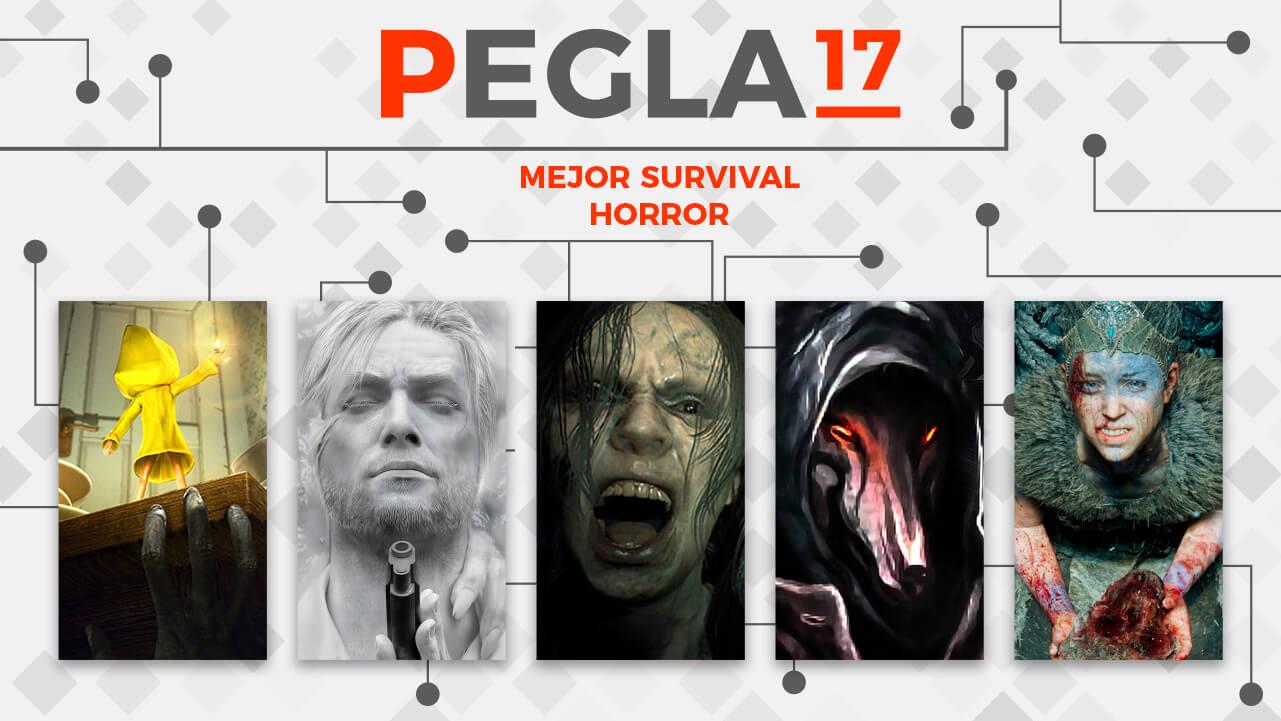 Premios EGLA 2017 Mejor Survival Horror
