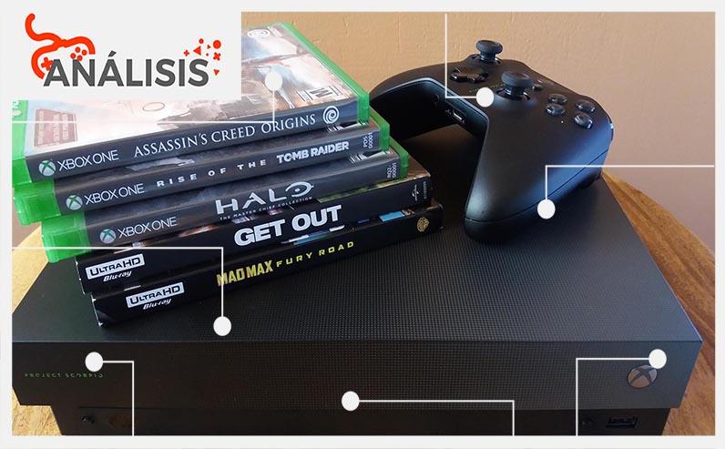 Xbox One X analisis portada egla