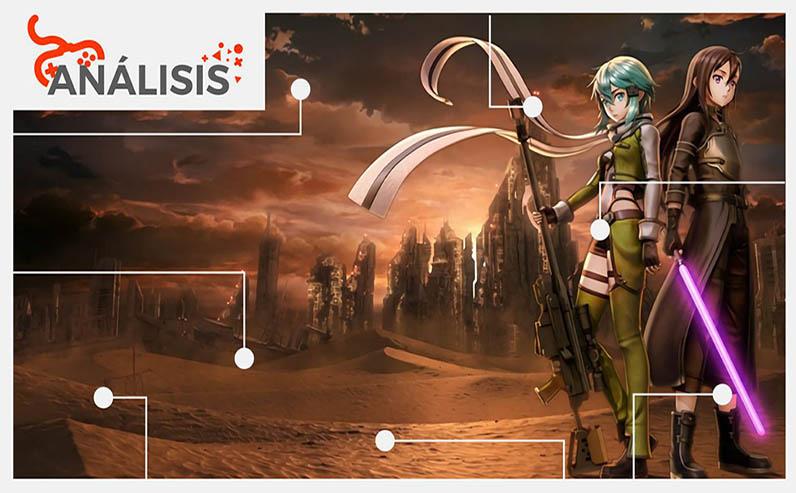 Sword Art Online Fatal Bullet portada analisis egla