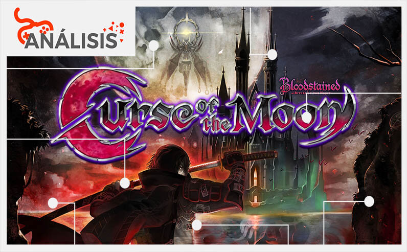 Bloodstained Curse of the Moon analisis egla