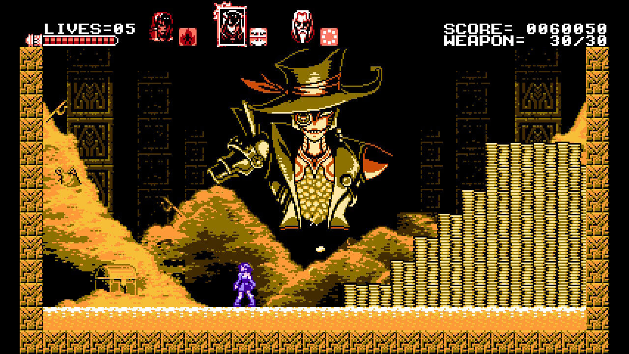 Bloodstained curse of the moon_jefe
