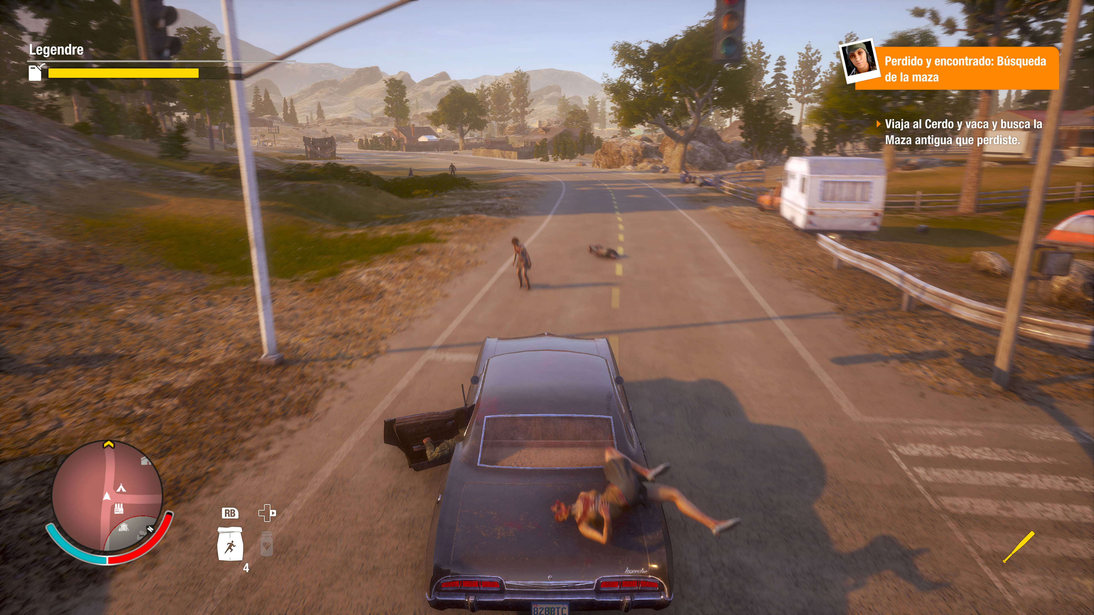 State of Decay 2_en carro