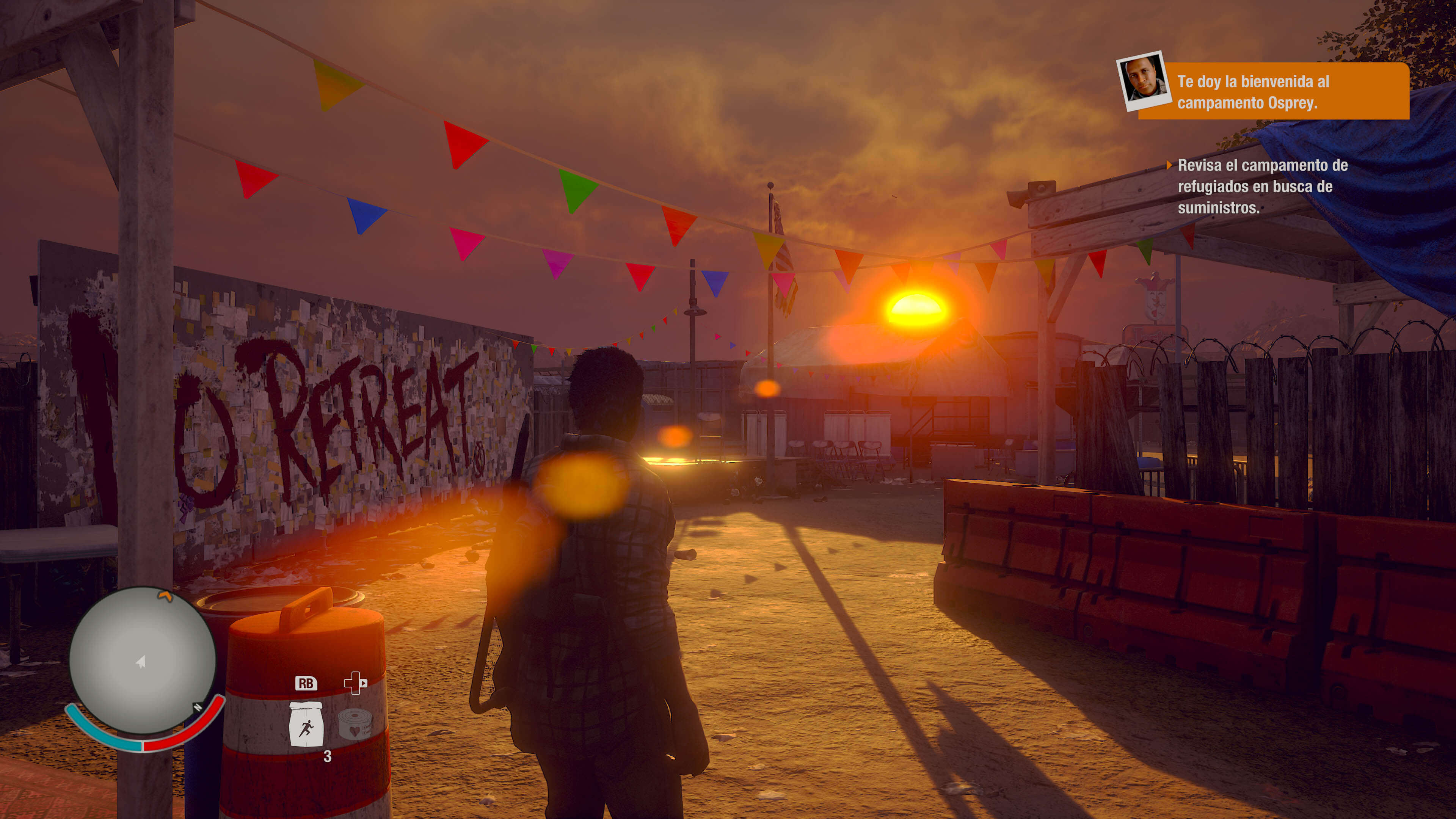 State of Decay 2_escena graffiti