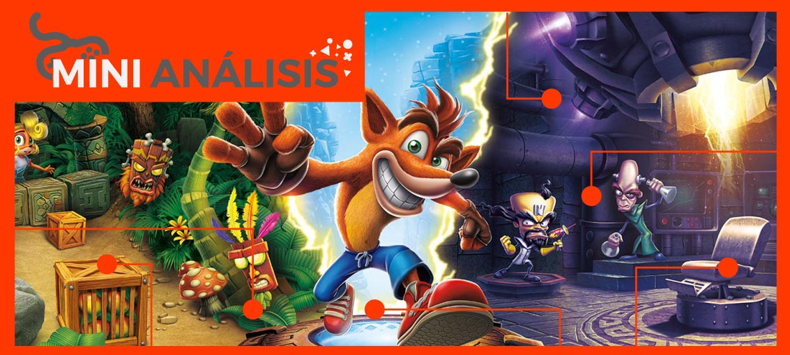 Crash Bandicoot N Sane Trilogy EGLA