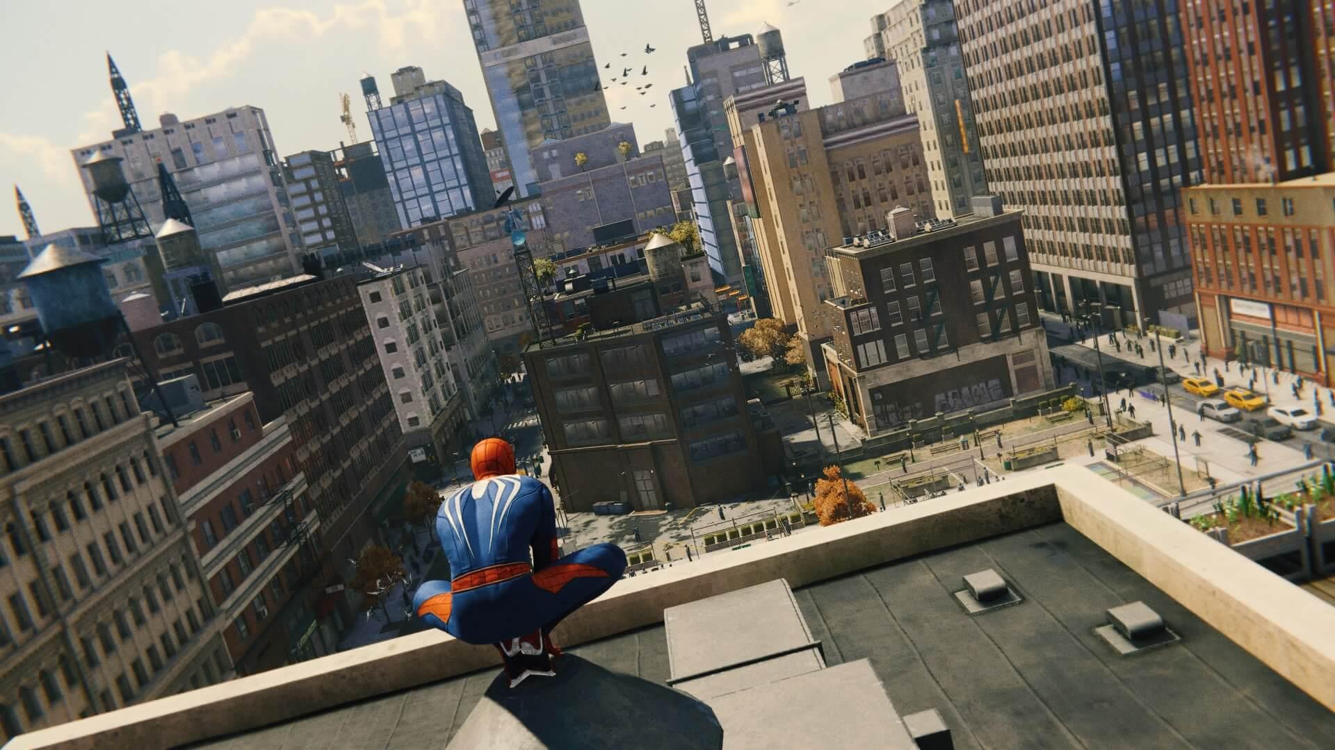 Marvel's Spider-Man_modo foto, por los cielos