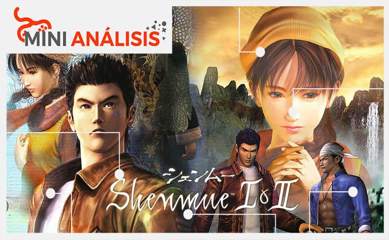 shenmue I & II analisis egla