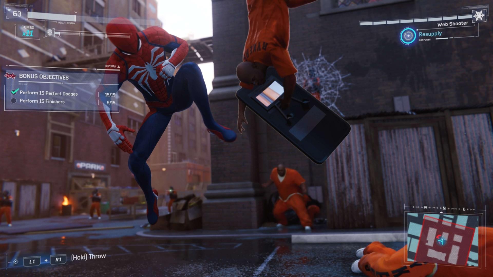 Marvels-Spider-Man_enemigos-lucha