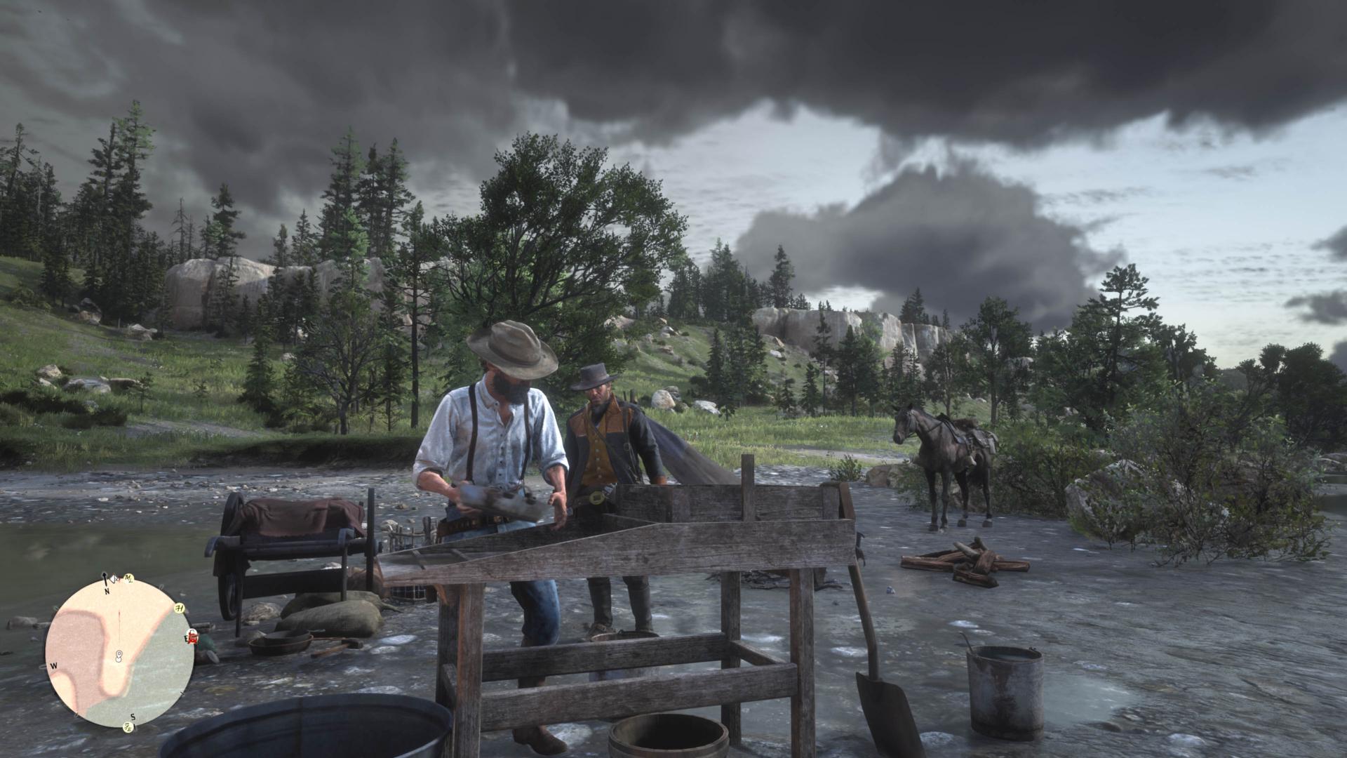 Red Dead Redemption 2__nieve y lluvia en paisajes (1)