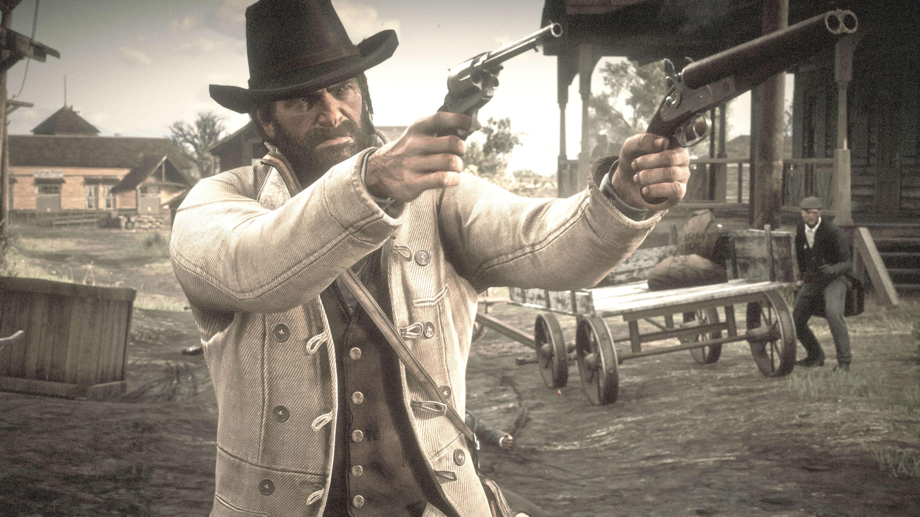 Red Dead Redemption 2_arma afinidad