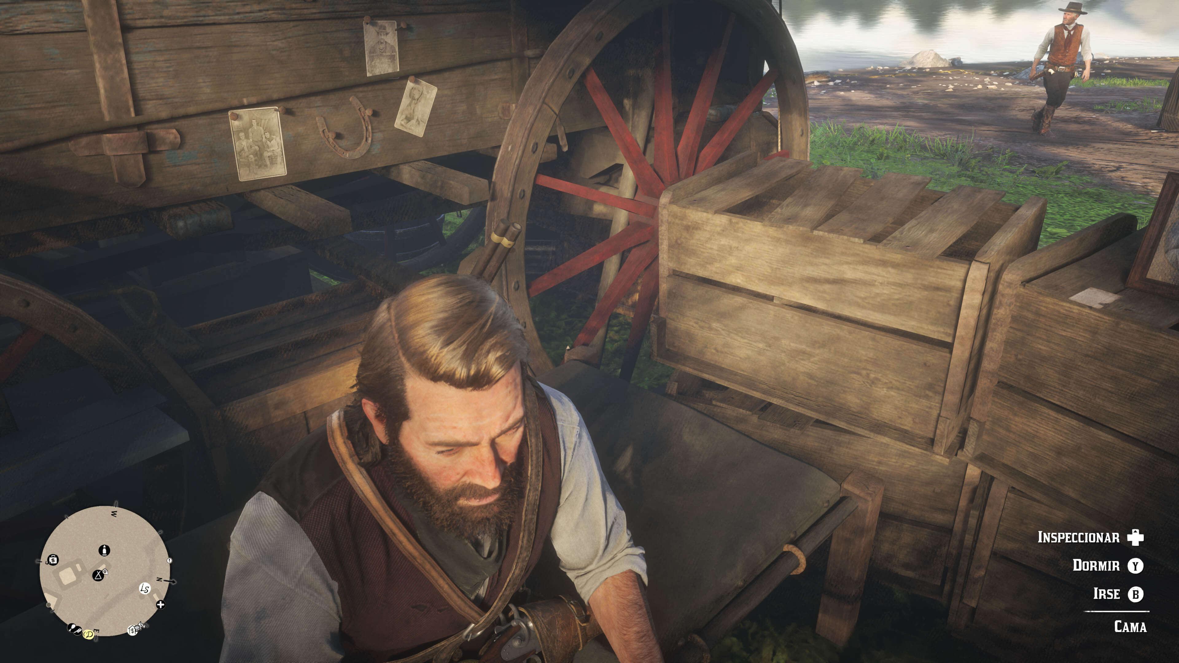 Red Dead Redemption 2_arthur duermiendo o cansado