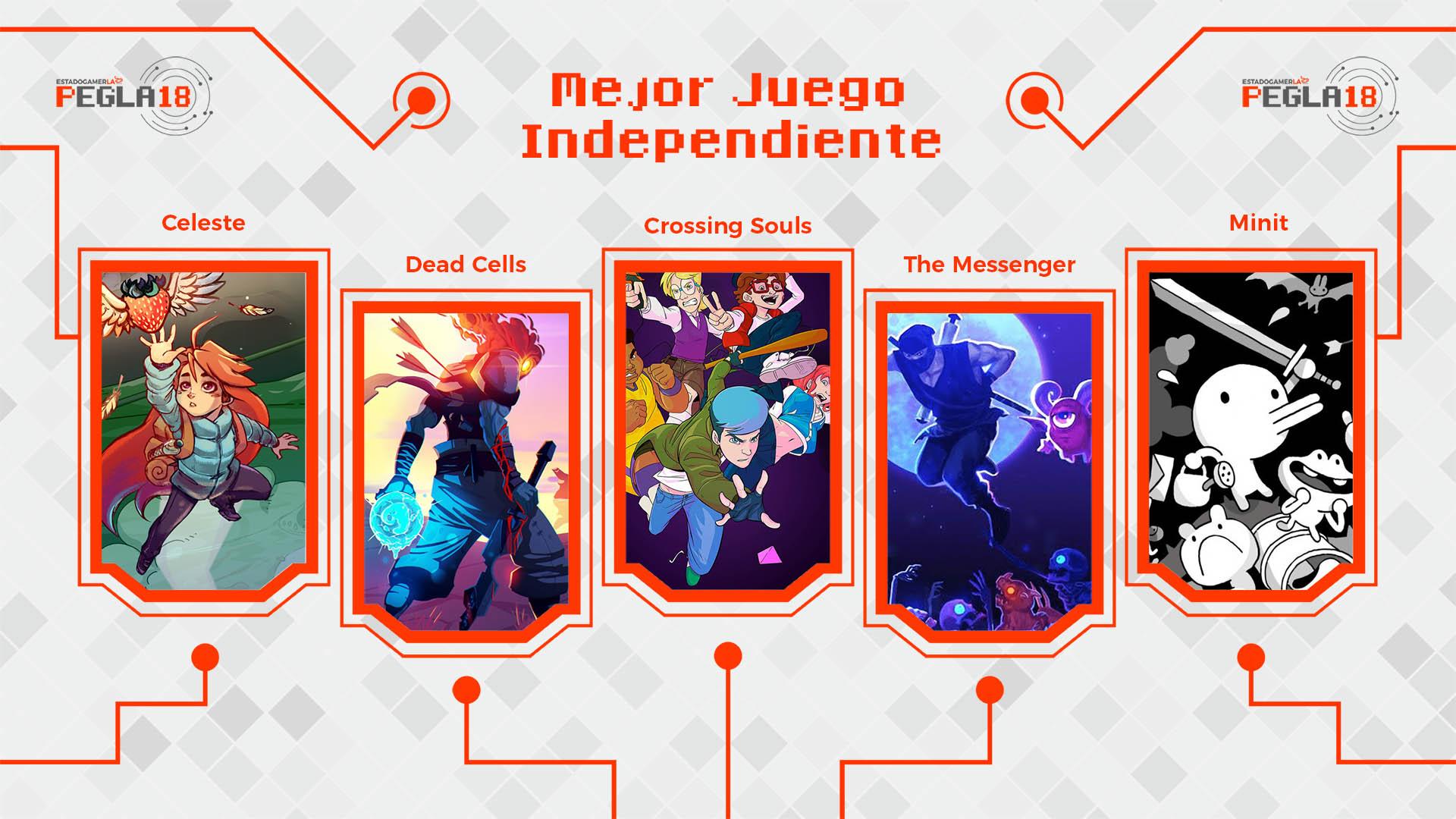Premios EGLA 2018 Mejor Juego Independiente