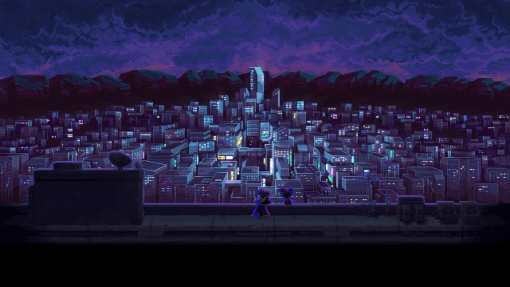 Katana Zero - Ciudad