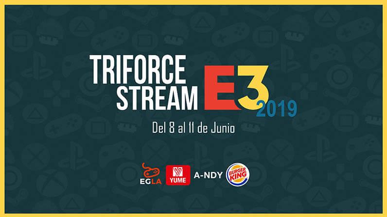 triforce stream e3 2019 portada