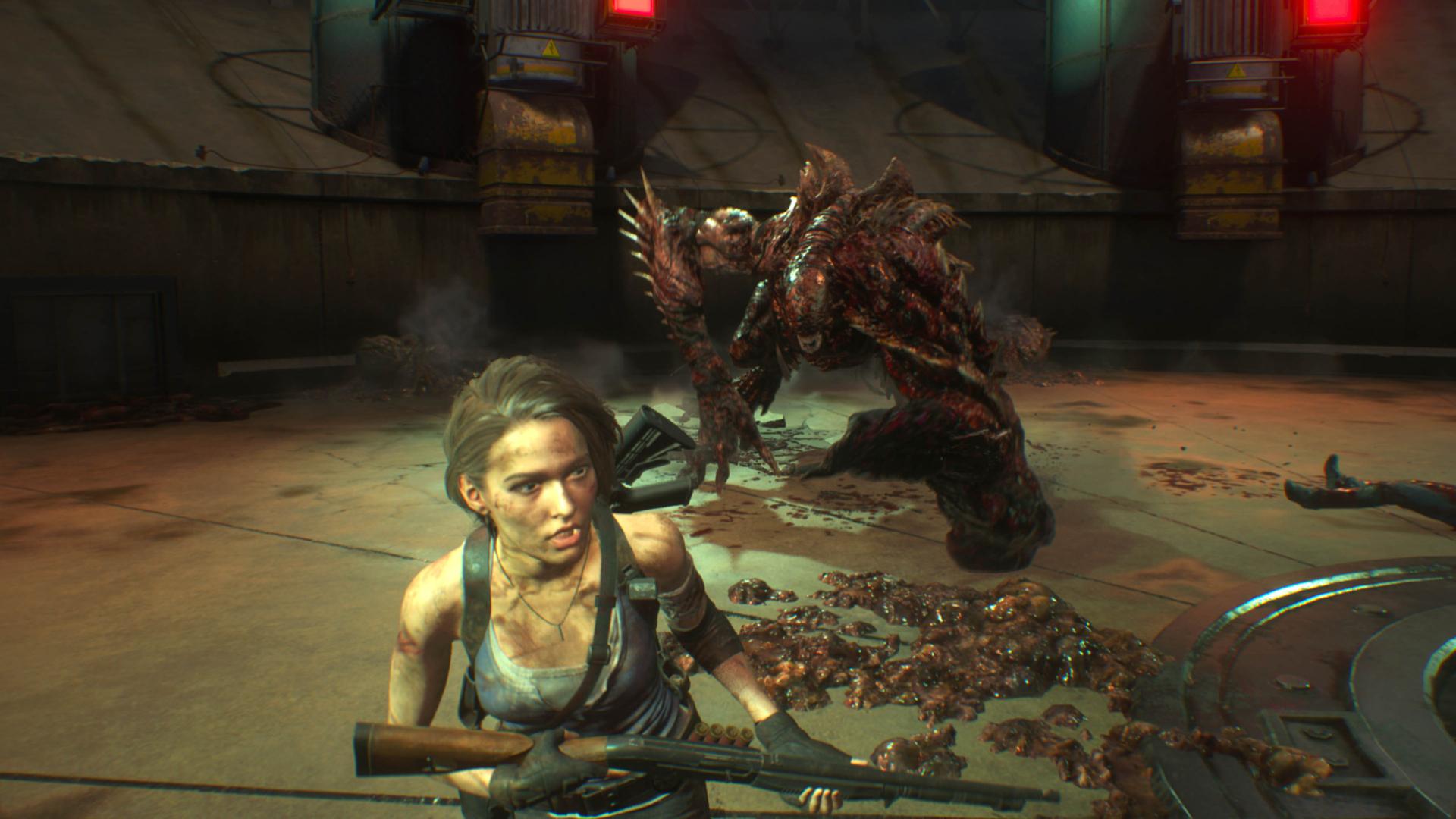 RESIDENT EVIL 3 nemesis (5)