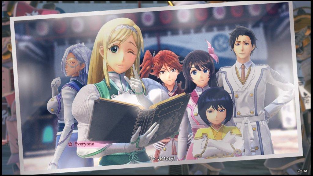 Sakura Wars - Equipo