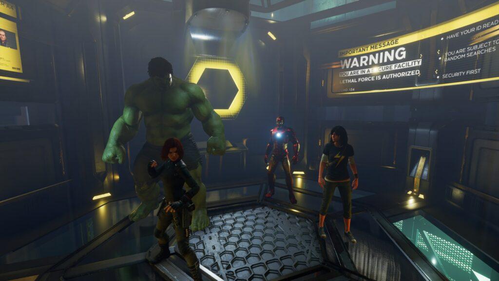 Marvel's Avengers - Team