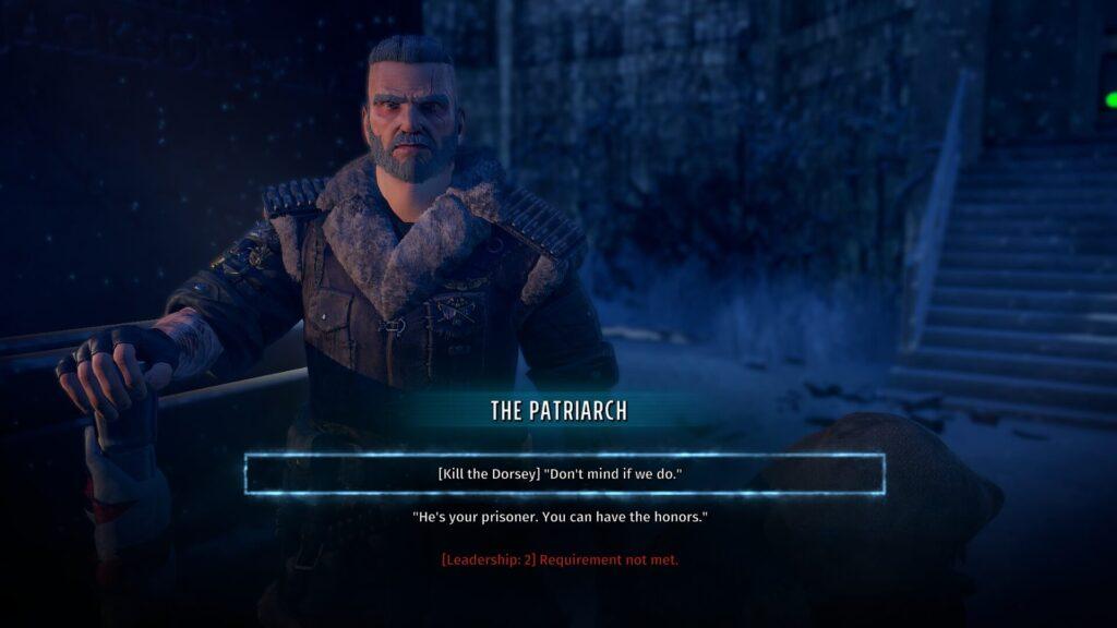 Wasteland 3 - Patriarca