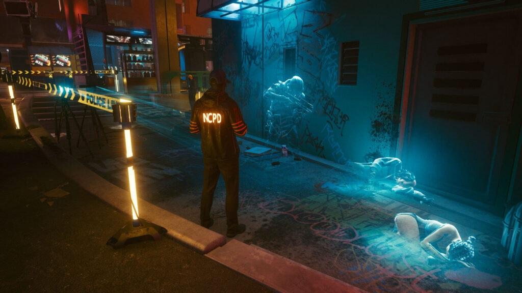 Cyberpunk 2077 - Policia