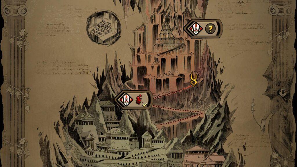 Hades - Mapa