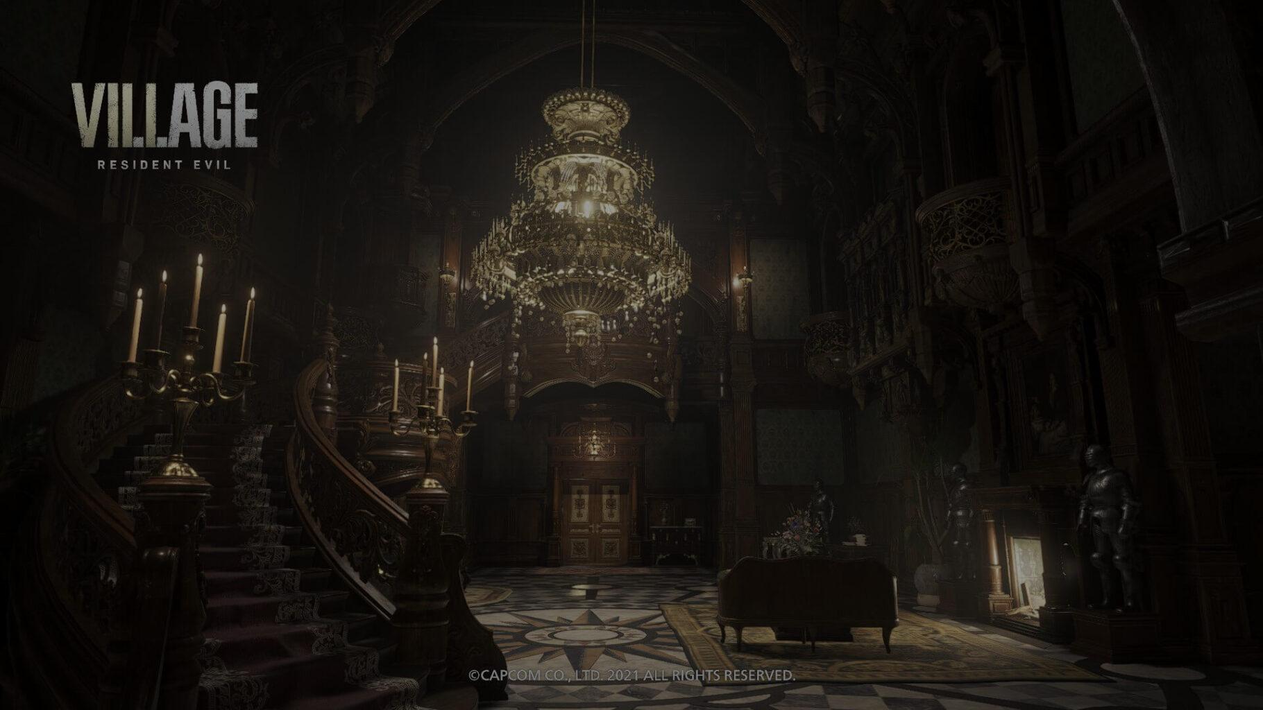 Resident Evil Village - Mansión