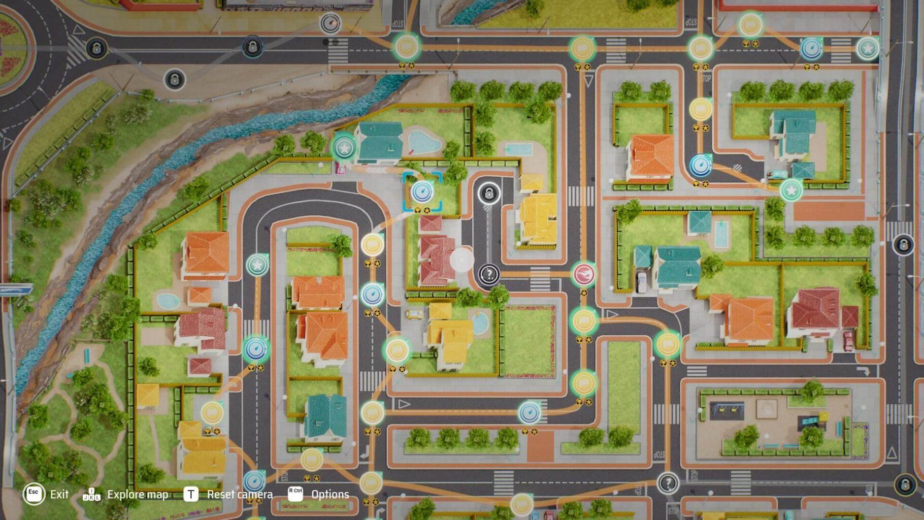 Hot Wheels Unleashed - Mapa