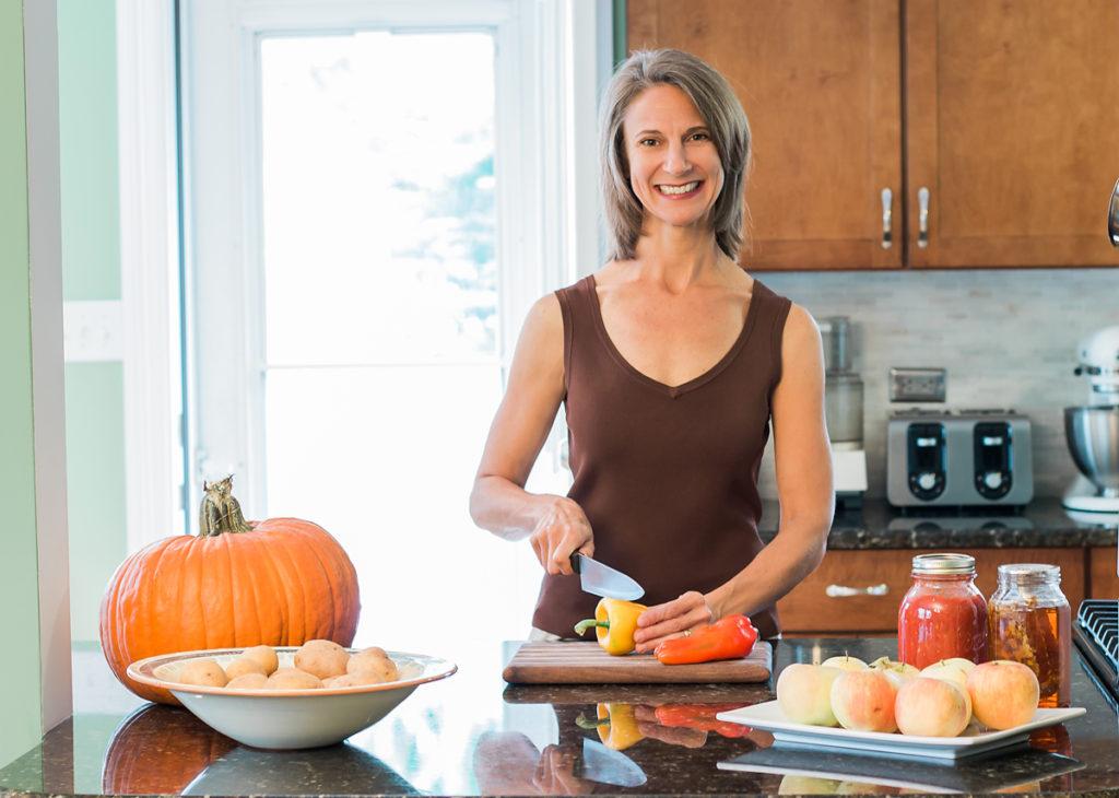 christina nifong in her kitchen