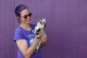 Laura Steere at Infinity Acres Ranch