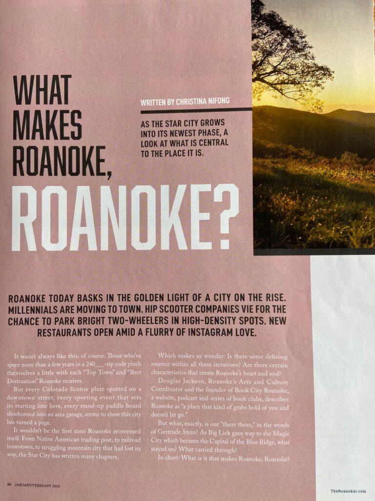 roanoke magazine story