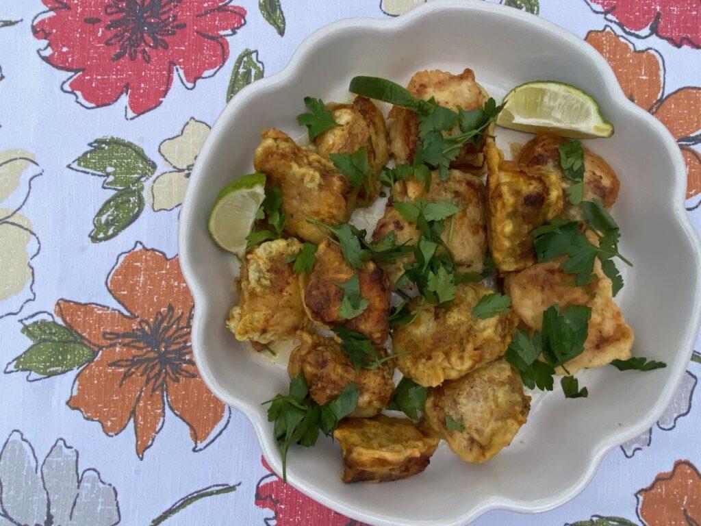 crispy curry fish